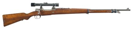 7.65 Mauser 1909 sniper rifle