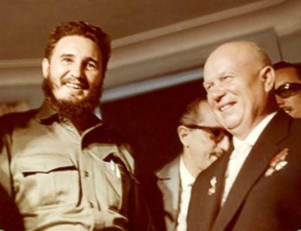 Fidel Castro & Nikita Khrushchev