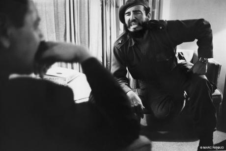 Fidel Castro & Jean Daniel