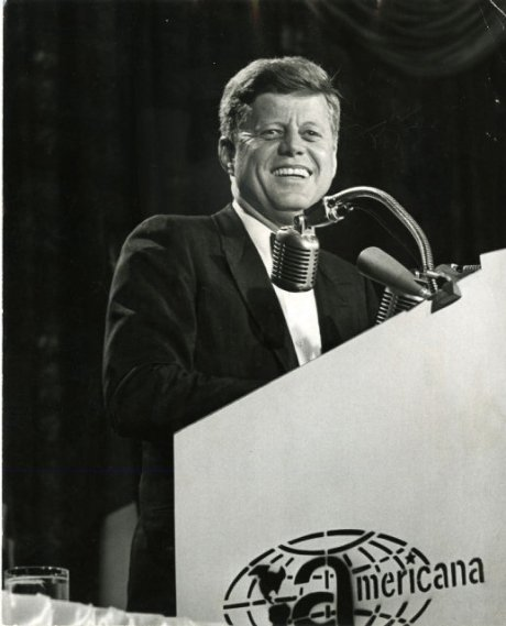 JFK at Inter-American Press Association