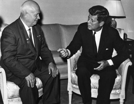 Khrushchev & Kennedy in Vienna 1961