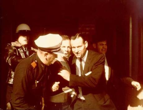 Oswald Arrested at Texas Theater