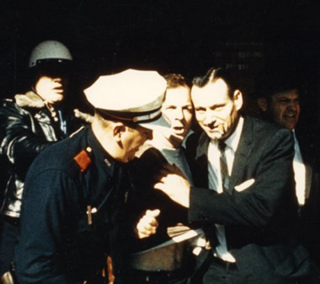 Oswald's Arrest at Texas Theater