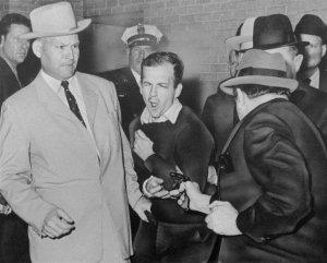 Oswald Shot by Mob Hit Man Jack Ruby