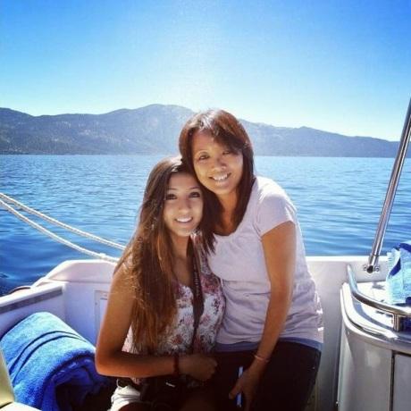 Sister Georgia and Mother Li Chin