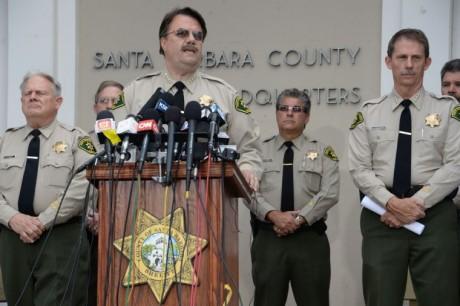 Santa Barbara County Sheriff Bill Brown