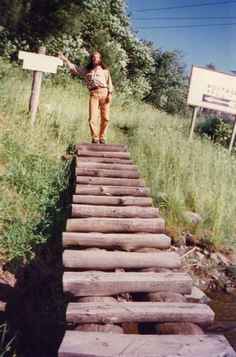Staircase Around Obstacles