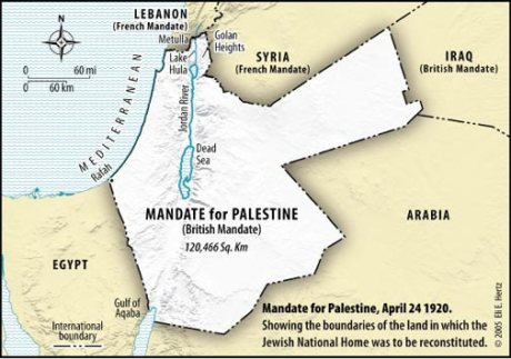 1920 Mandate Palestine