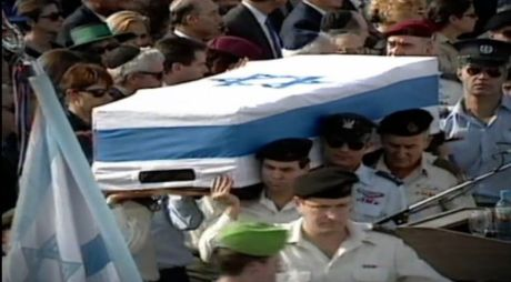 Prime Minister Yitzhak Rabin's Actual Funeral